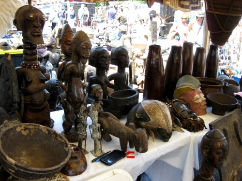 Randolph Street Market - African Carvings