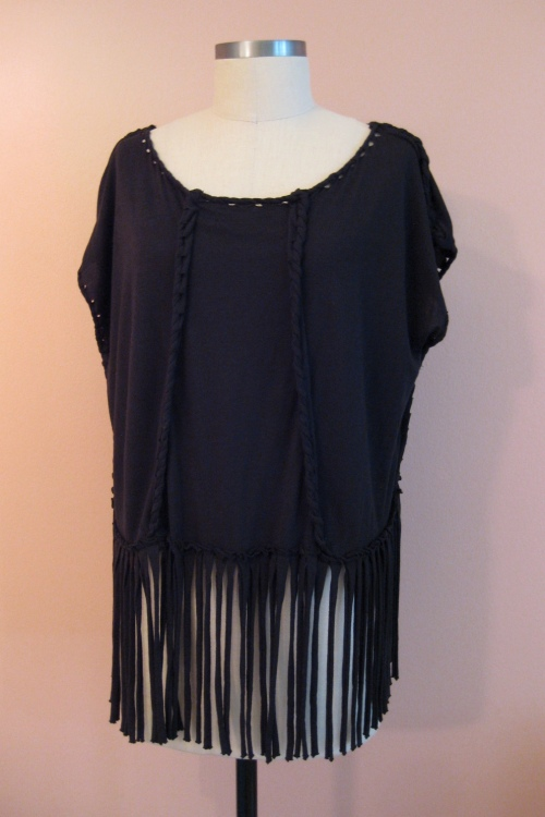All-Saints Spitalfields Sunset Fringe Top