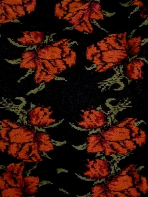 Free People Floral Print Sweater Jacket