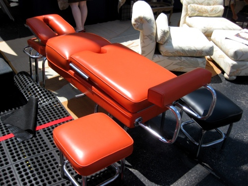 Randolph Street Market - Old-Fashion Massage Table