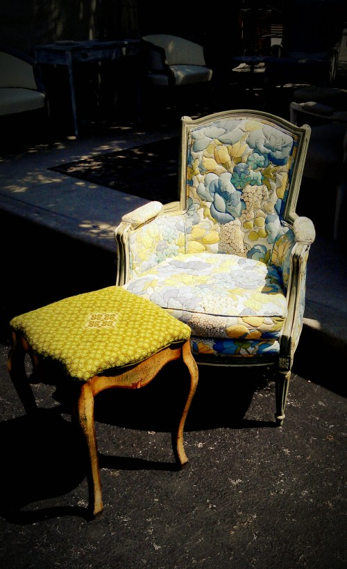 Randolph Street Market - Old-Fashion Chair