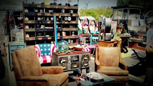 Randolph Street Market Set-Up