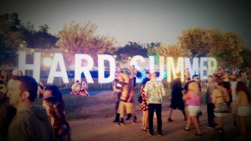 Hard Summer Music Festival, Summer 2012