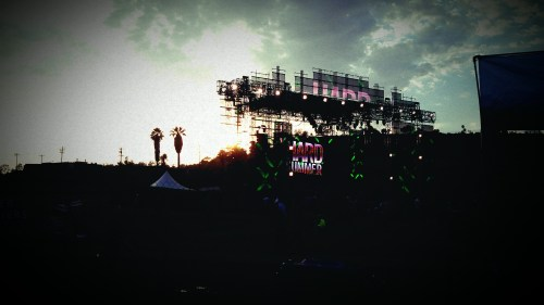 Hard Summer Music Festival at Sunset, Summer 2012