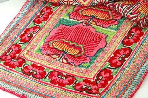 Woman Shops World Vintage Hmong Tribal Textile