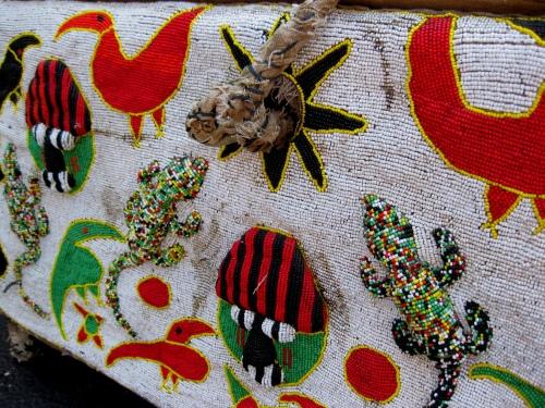 Yoruba Tribe - Beaded Chest
