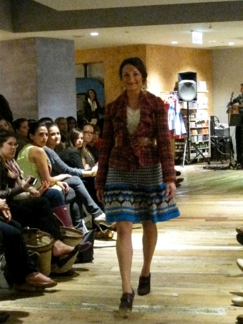 Anthropologie Fall Fashion Show 2012