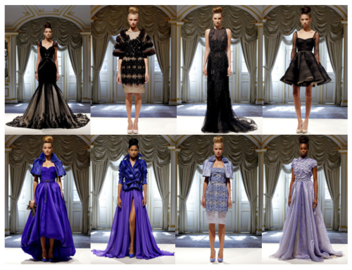 Dennis Basso Spring 2013 Runway Collection