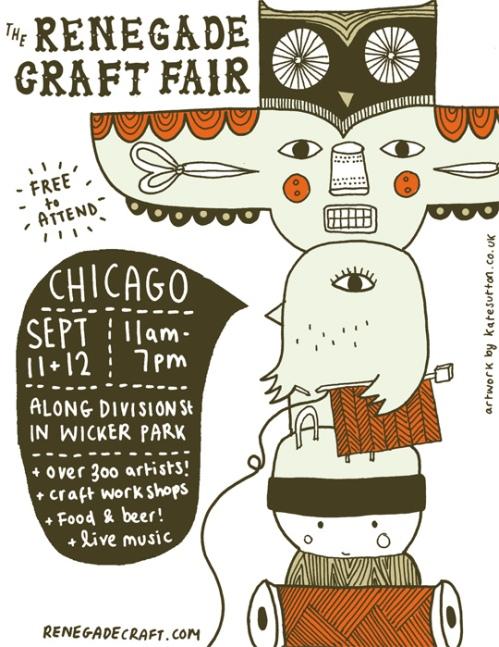 Renegade & Handmade - Craft Fair Chicago