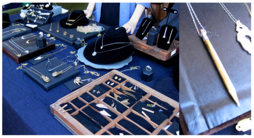 Renegade & Handmade Craft Fair Jewelry Display