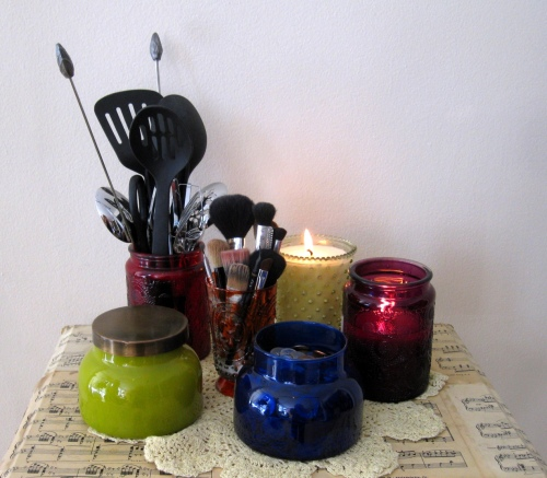 DIY - Candles to Storage Containers