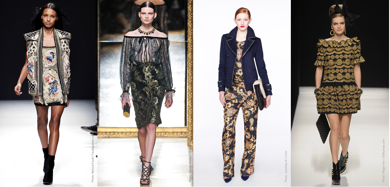 Autumn winter 2012 trend report a style guide for the for Define baroque style