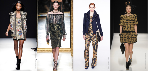 Fall 2012 Fashion Trend - Baroque Opulence