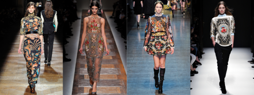 Fall 2012 Fashion Trend - Eastern-Inspired Prints