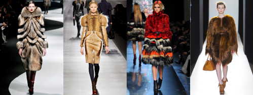 Fall 2012 Fashion Trend - Untamed Fur