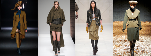 Fall 2012 Fashion Trend - Military-Inspired