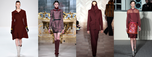 Fall 2012 Fashion Trend - Oxblood
