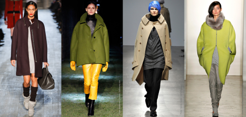 Fall 2012 Fashion Trend - Rounded Shoulders
