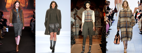 Fall 2012 Fashion Trend - Houndstooth, Herringbone & Plaid