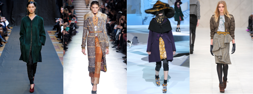 Fall 2012 Fashion Trend - Wool, Suede, Tweed