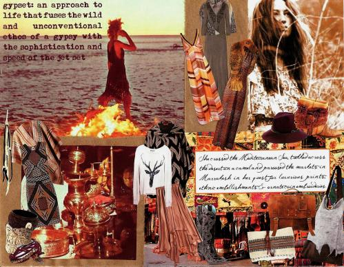 "Free People ""Global Nomad"" Product Collage"