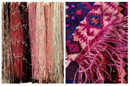 Velvet Strands & Woven Textile