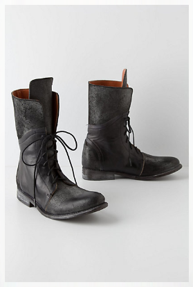 Anthropologie - Holding Horses Basalt Military Boots