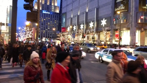 Black Friday Shoppers - Michigan Avenue