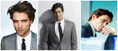 Christian Grey - Robert Pattinson, Matt Bomer, Henry Cavill