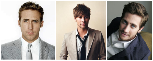 Christian Grey - Ryan Gosling, Chace Crawford, Jake Gyllenhaal