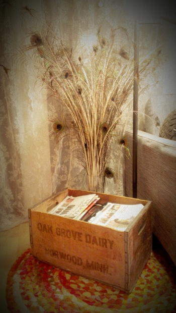 My Vintage Find - Old Oak Grove Dairy Wood Box