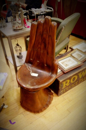 Randolph St Market - Palm Chair