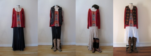 Ways to Wear it: Free People Embroidered-Front Tunic