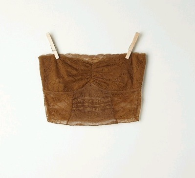 Free People Gold Lace Bandeau