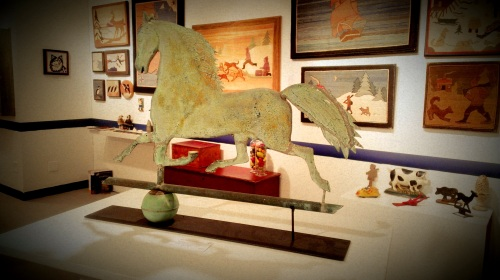 International Antiques Fair - Weathered Horse