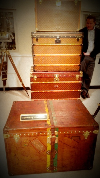 Vintage Louis Vuitton Trunks