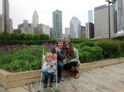 At Millenium Park Gardens