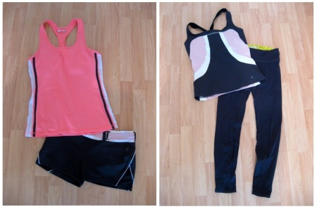 Mix & Match Combo - Pink & Grey Yoga Sets