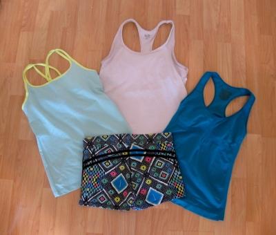Mix & Match Combo with Mosaic Shorts