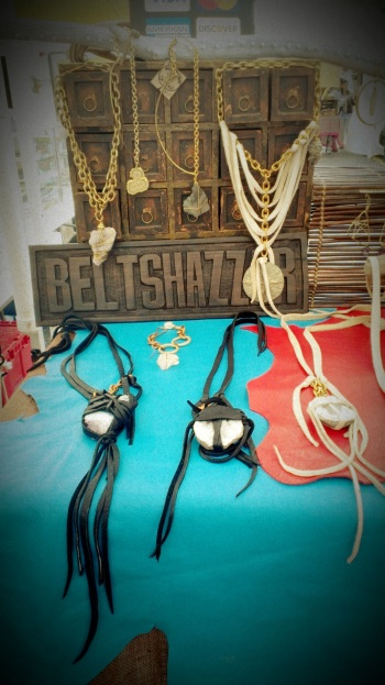Beltshazzar Jewels Leather & Stone Accessories