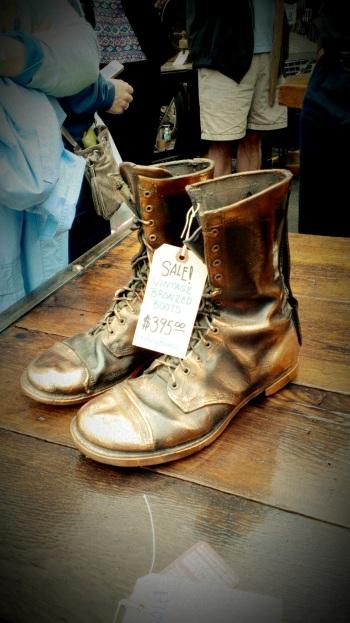 Bronze Boots