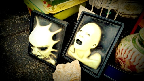 Creepy 3-D Aliens