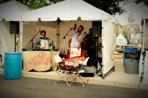 Live Music at the Vintage Market