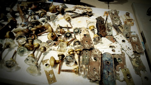 Vintage Door Knobs (2)