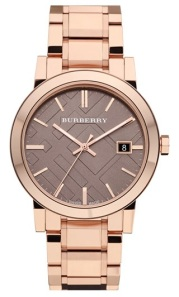 Burberry Rosegold Watch