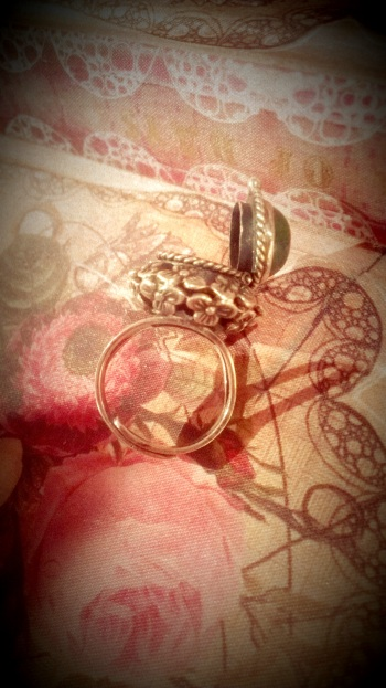 Sterling Silver Poison Ring (1)