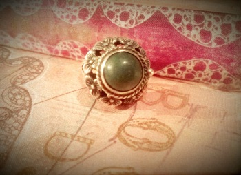 Sterling Silver Poison Ring (2)