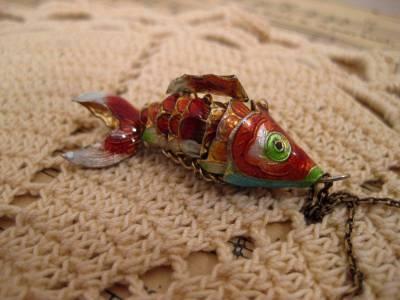 Vintage Fish Pendant (2)