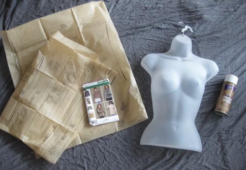 DIY Paper Mache Mannequin Start