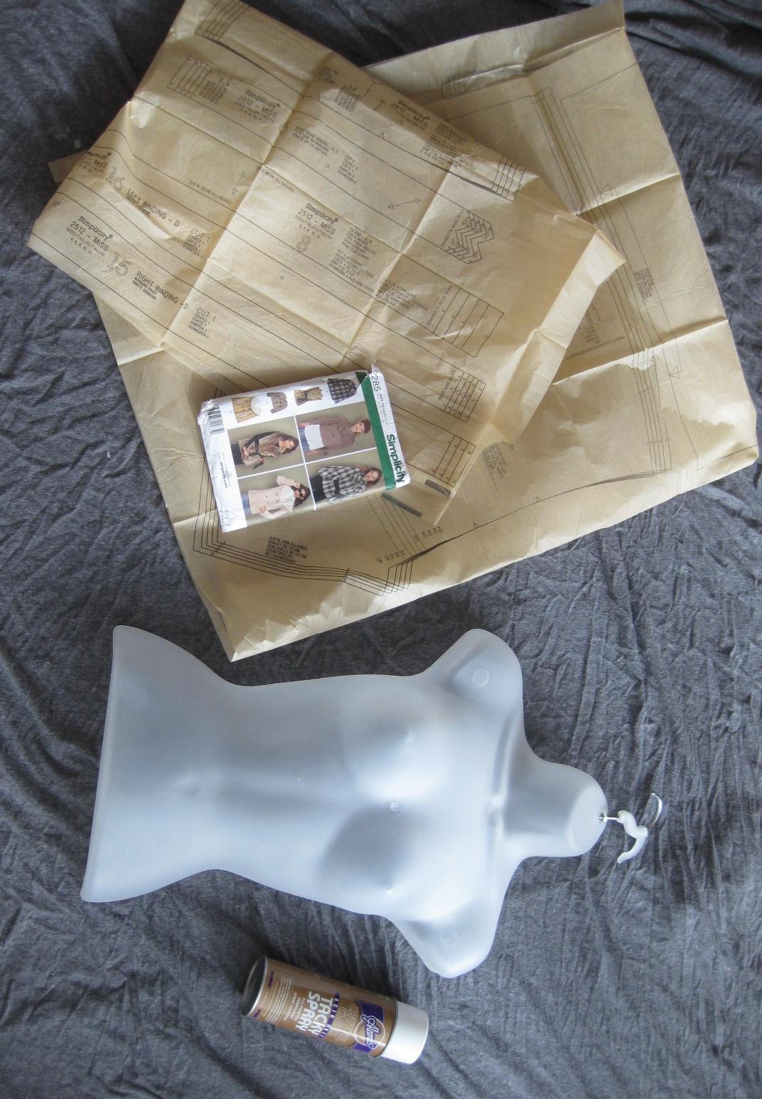 Diy Paper Mache Mannequin Express Thru Dress
